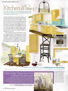 Traditional Home Magazine Kitchen Winner